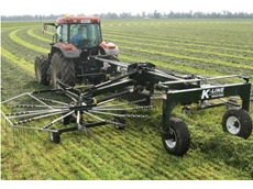 The 9600 Series Rotary Hay Rake from K-Line Industries