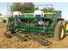 Poly tipped harrow
