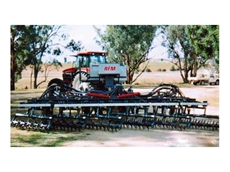 Rotary harrow for stubble management, trash handling and weed control