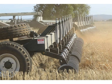 Retaining stubble to reduce erosion and increase soil organic matter