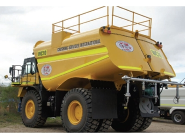 Leading Articulated Dump Truck Water Tankers And Service