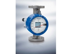 H250 variable area flowmeter featuring the M40 indicator