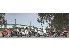 Kymco Motorcyles and Scooters