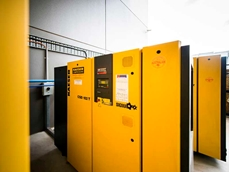 Six Kaeser CSD series rotary screw compressors were installed to optimise the energy efficiency of WTC's compressed air systems