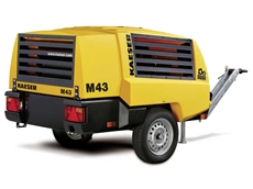 Mobilair 43 portable compressor