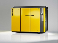 Kaeser's new DSDX series rotary screw compressors delivering even more energy savings