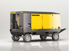 Mobilair M235 diesel powered air compressor