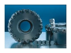 High-insert-density cast and ductile iron face milling program.