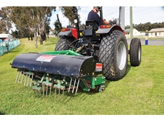 Deep tine aerator answers council's needs