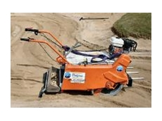 Sand pit cleaner available from Kennards.