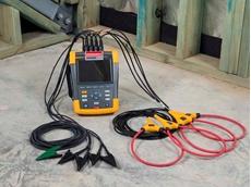 Fluke 435 Series II three-phase power quality analyser