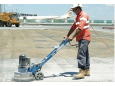 Grinders in use at Brisbane Airport