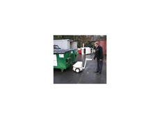 Electrodrive Tug for moving heavy waste bins available from Kennards Lift & Shift