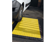 Flexi-edge trench covers making worksites safer for pedestrians