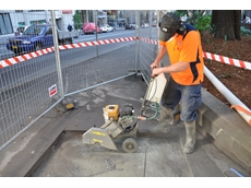 General purpose concrete saw from Kennards Hire