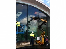 The Commercial Windows team at work in Katoomba