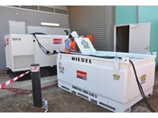 Hired fuel cube from Kennards Hire supports temporary power need