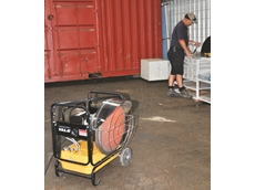 Infrared heaters from Kennards Hire ideal for factories