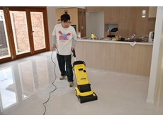 New floor scrubber from Kennards Hire