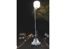 Balloon lights from Kennards Hire are used on a gas pipeline rehabilitation project