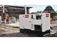 One of the 45kVA generators on the UWS site