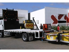 The first of the 15 tonne GVM units is rolled out