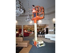 Kennards Hire presents new manlift for suspended floors
