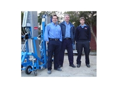 The Kennards Lift & Shift team in Adelaide.  L to r: Peter Luczak, Mark Bakker and Steven Mikajewski