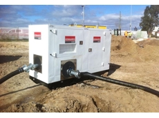 The first of Kennards' new pumps in Western Australia, an Hh80 was hired by Gavin Construction