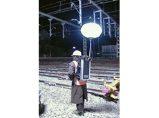 Kennards Hire Traffic's new backpack work lights provide up to four hours of illumination on a single battery charge