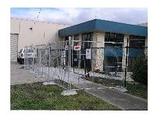 'No minimum' temporary fencing