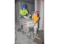 Non-stop grout from Kennards Concrete Care cuts man hours