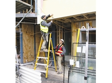 Platform step ladders from Kennards Hire