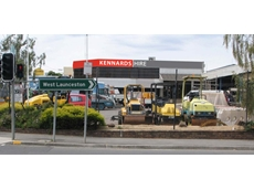 The new Kennards Hire rental equipment outlet in Launceston