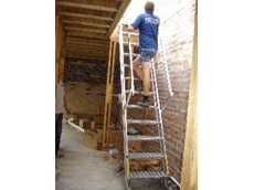 Safety stairs from Kennards Hire
