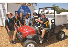 Scouts hire all-terrain vehicles from Kennards Hire for jamboree