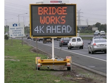 Variable Message Signs from Kennards Hire Enhance Road Safety on M80 Project