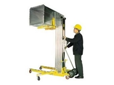 Series 2100 material lifts