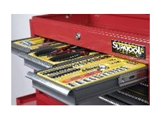 Supatool Tool Station trays and tool chests
