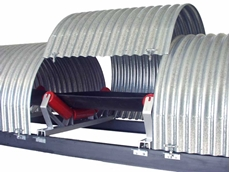Capotex belt conveyor covers