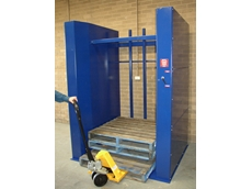 King Materials Handling pallet dispenser