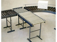 Gravity conveyors can be fitted with rollers or skate wheels