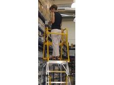 Navigator mobile platform ladders from King Materials Handling