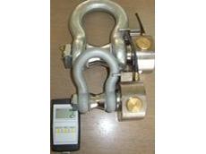 Telemetry load sensor shackle