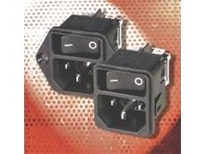 Schurter inlet line switches.
