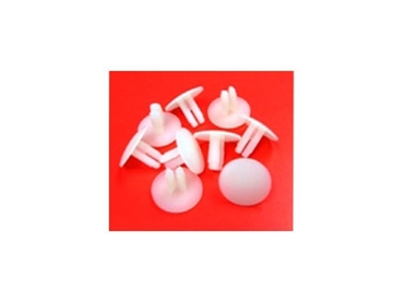 Ratchet Rivets and other Nylon parts can be dyed to suit