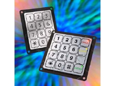 Schurter piezo industrial keypads are ideal for outdoor applications