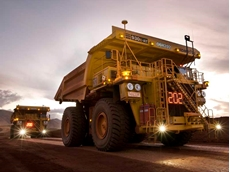 Komatsu will send operational data collected from sensors attached to its mining dump trucks to a GE data centre in the US
