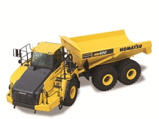 Komatsu launch new 40 tonne articulated dump truck