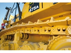 Komatsu launch new dual bushing undercarriage concept